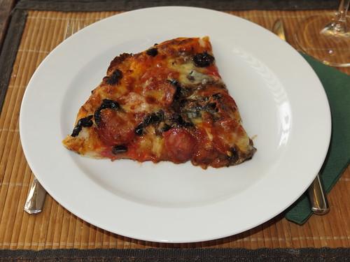 Pizza (ein Viertel)