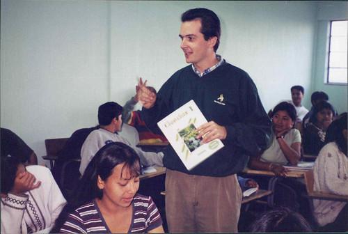 Jeff, the teacher