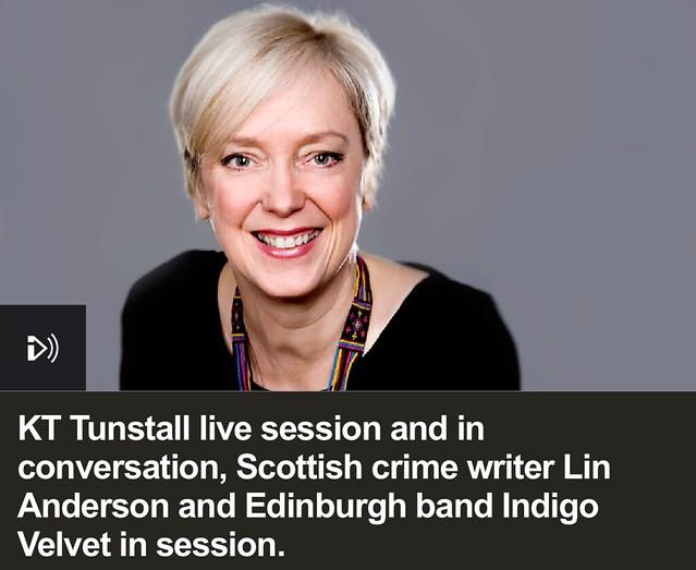 Indigo Velvet, Live session on the Janice Forsyth show on BBC Radio Scotland
