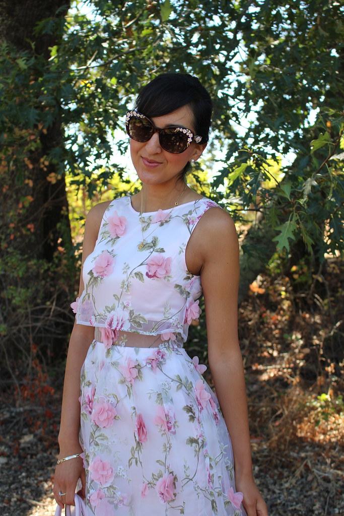 3D Floral Dress 4