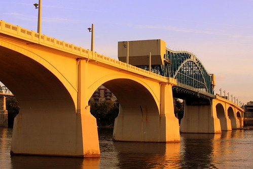 Market Street Bridge (Just Before Sundown)