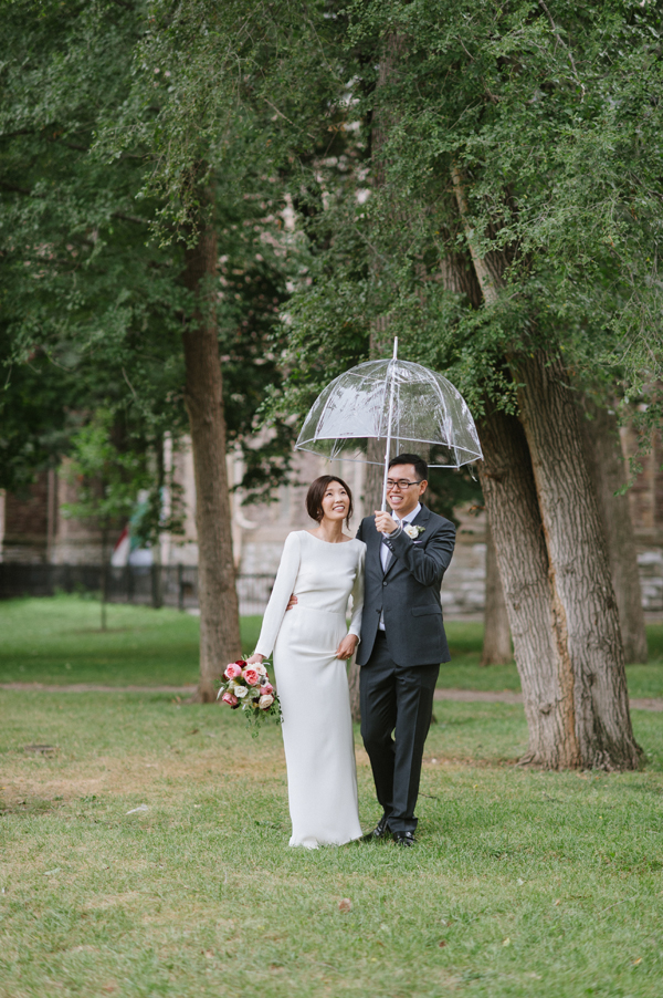 Celine Kim Photography Allan Gardens Auberge du Pommier romantic intimate restaurant Toronto fall wedding-37