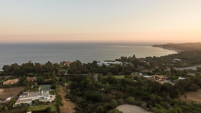 Дом с видом на океан в Малибу
