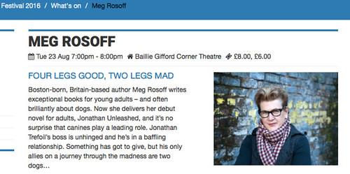 Meg Rosoff - EIBF