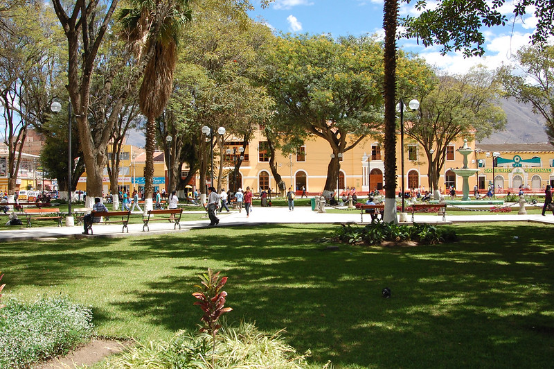 Plaza de Armas, Huánuco, Peru