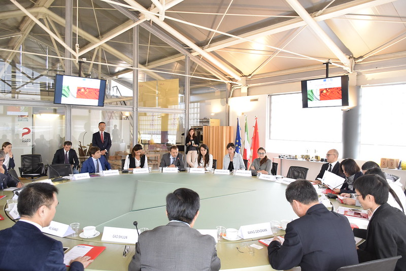 Visita di una delegazione di China Radio International a Città della Scienza