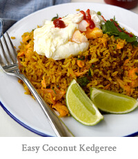 Easy Coconut Kedgeree