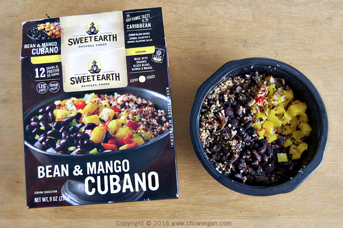 Sweet Earth Natural Foods Bean & Mango Cubano
