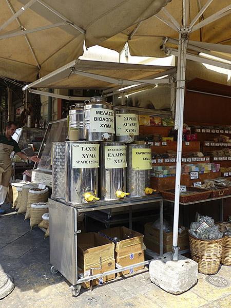 distributeurs de mélasse, tahini, sirop d'agave ...