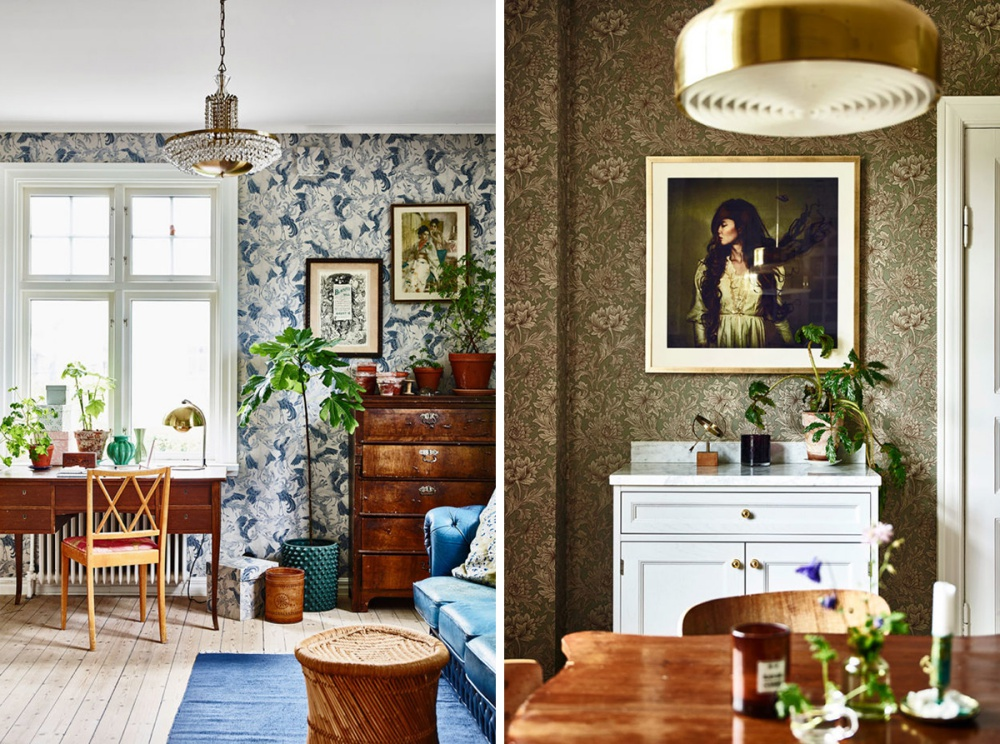 Chic Vintage Bohemian Home