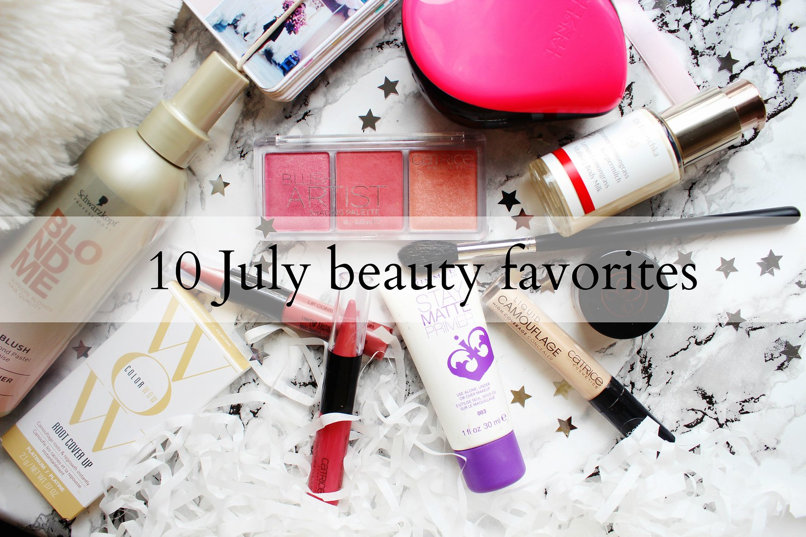 10 July beauty favorites