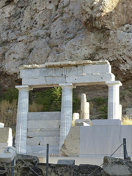 le temple d'Asclépios