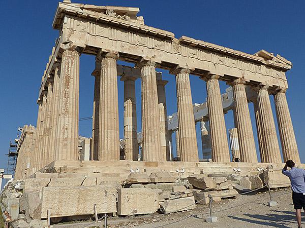 magnifique Parthénon !