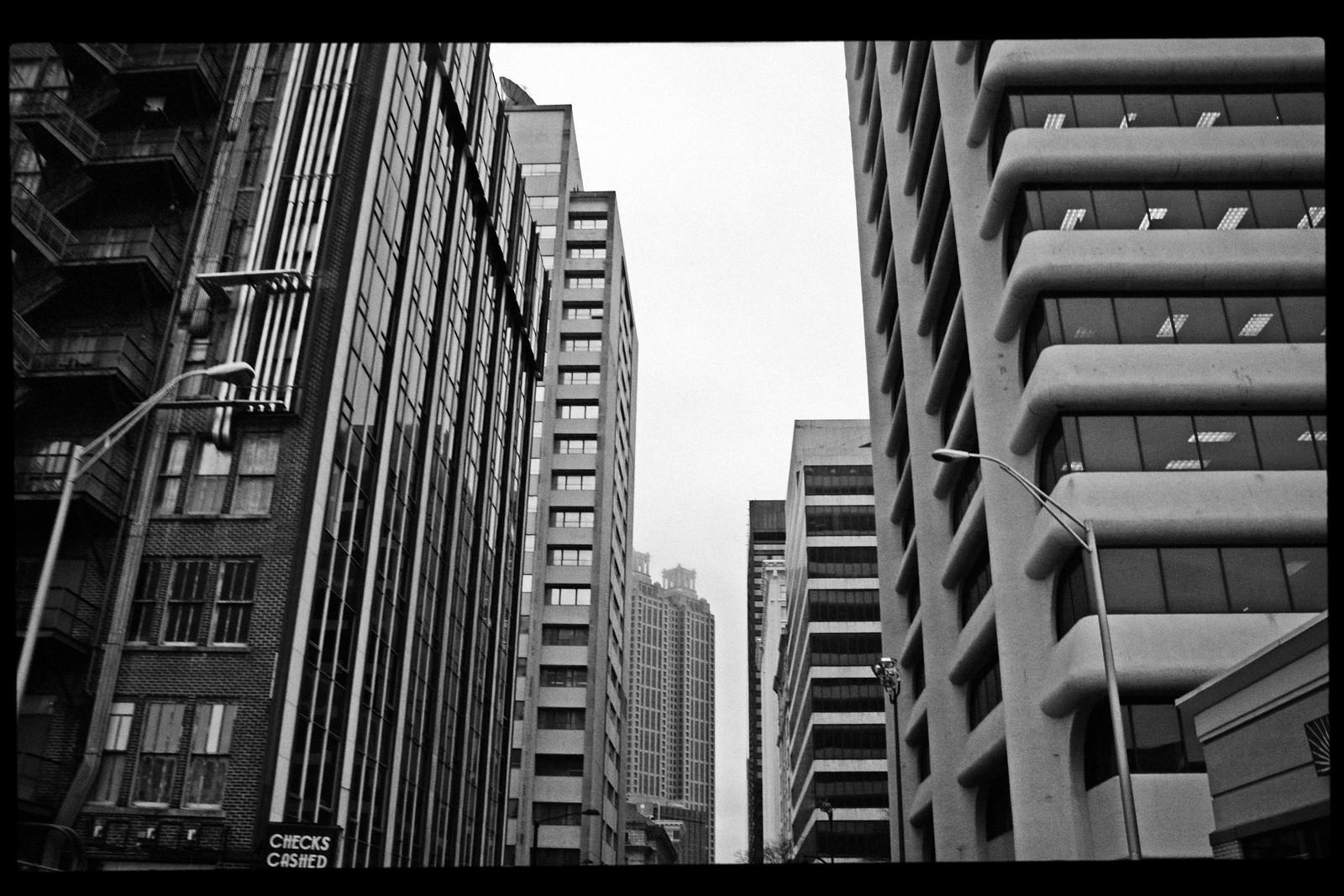 Forsyth Street view Toward 191  Peachtree Tower, Atlanta