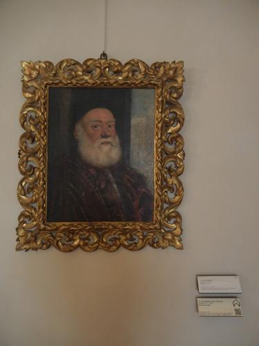 DSCN4722 _ Ritratto di vecchino, Jacopo Robusti, detto il Tistoretto, Palazzo D'Accursio (Palazzo Comunale), Bologna, 18 October
