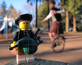 LEGO Collectible Minifigures Series 7 : Bagpiper | by wiredforlego