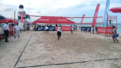 Torneo de voleibol Coca Cola Beach Back 2016