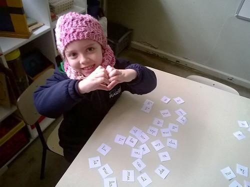 Aprendendo a reconhecer as letras - educação infantil