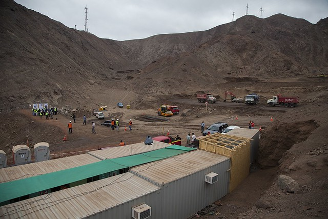 Obras de mitigación de aluviones en la Quebrada Farellones, en Antofagasta (2)