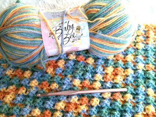 weekly pregnancy photo ideas - Crochet Baby Blanket