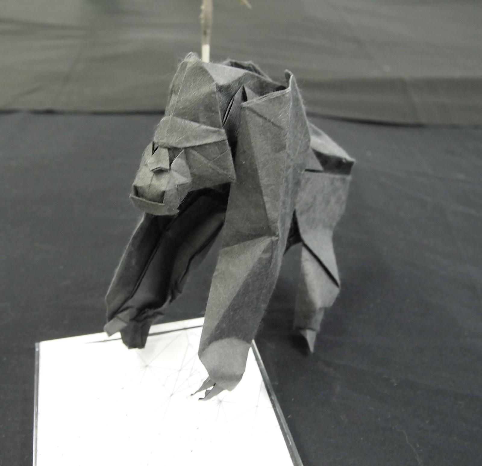 22th Origami Tanteidan Convention. Exhibition of Yuta Katsuzaki