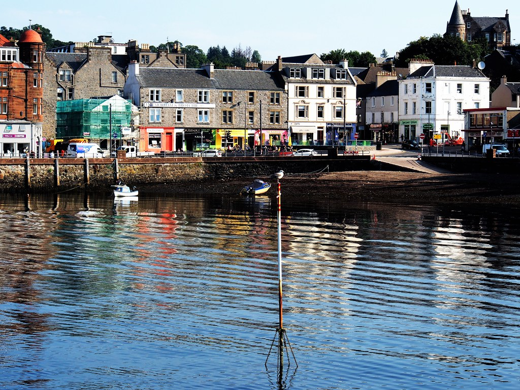 Oban Harbour, Scotland.