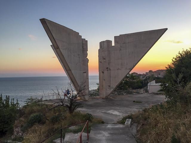 Ulcinj War Memorial - Sunset