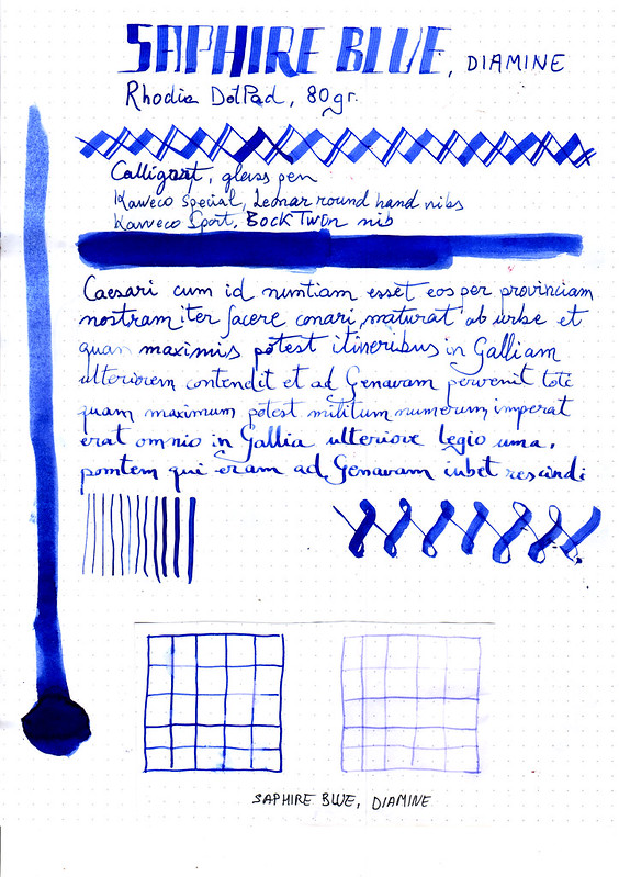 Diamine Saphire Blue-1