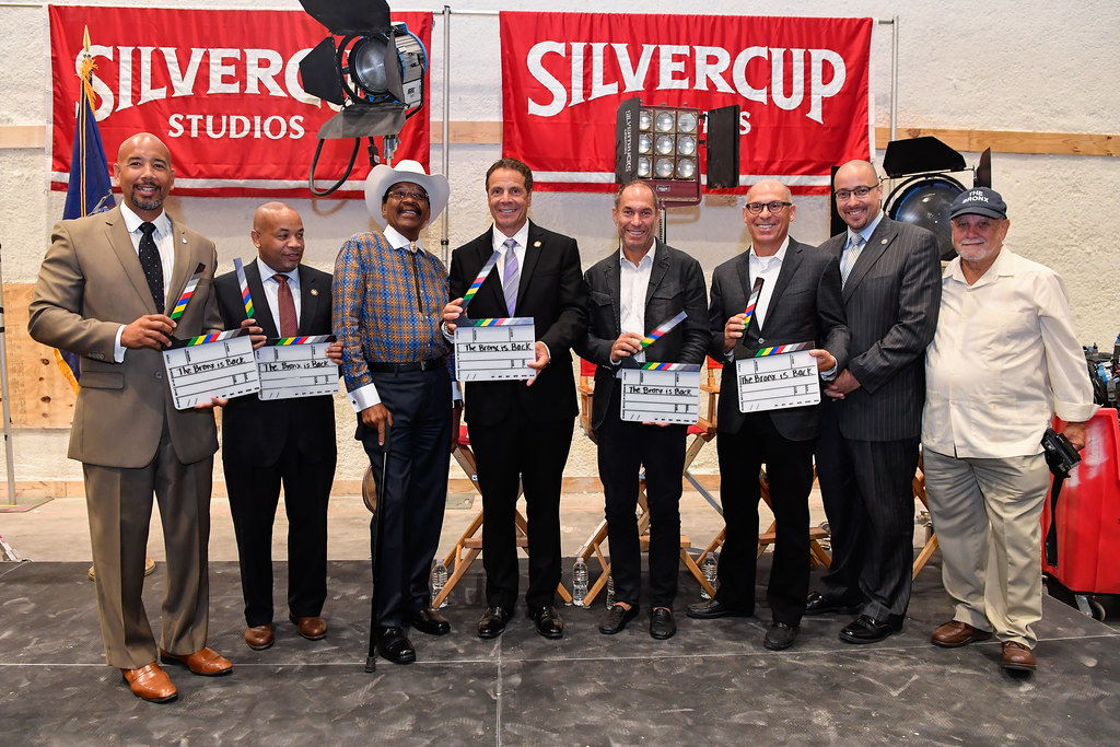 Governor Cuomo Announces Official Opening of New Silvercup Studios Film & TV Production Facility in the Bronx
