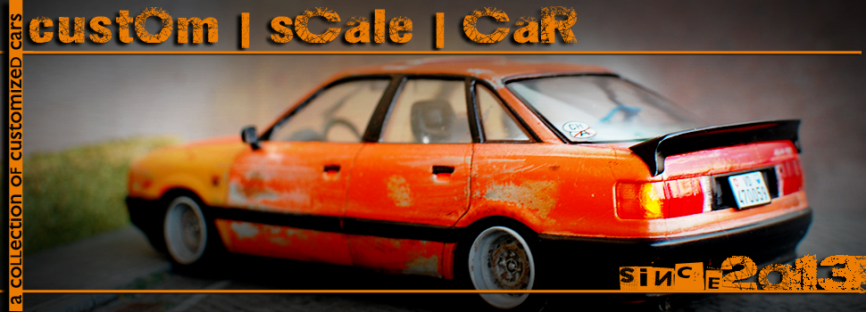 custom | scale | car