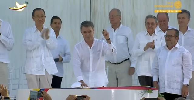 La firma del Acuerdo Final en imágenes