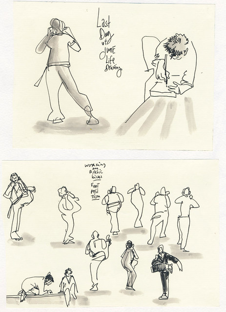 Sketchbook #99: My Life Drawing Class