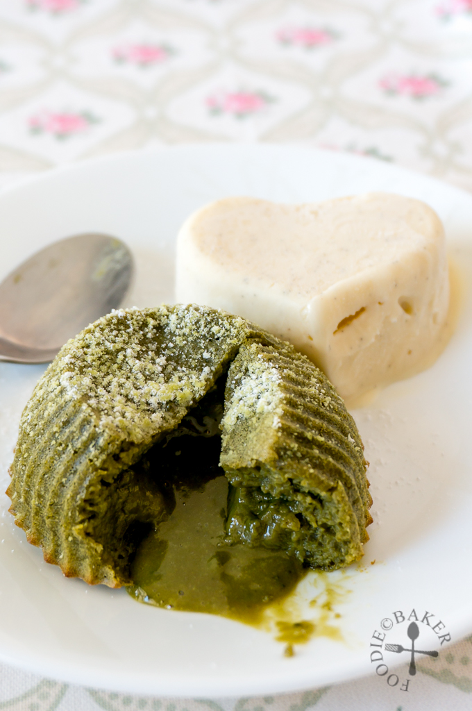 Matcha Lava Cake for One or Two