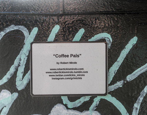 COFFEE PALS BY ROBERT MIROLO [DUBLIN CANVAS PAINT-A-BOX PROGRAMME]--119987