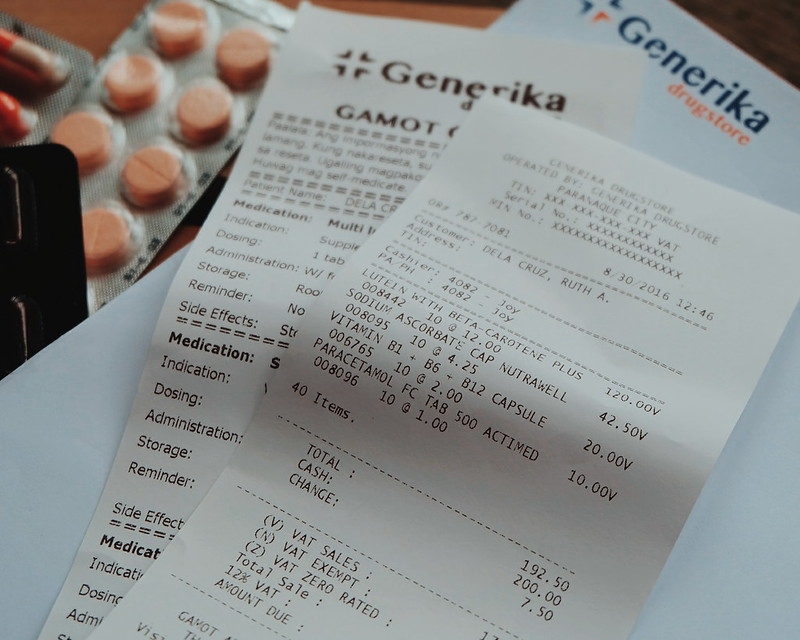 What Does Php 200 Buy You in Generika Drugstore?