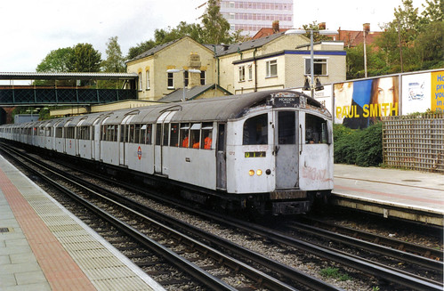 1959 Tube Stock at Finchley Central