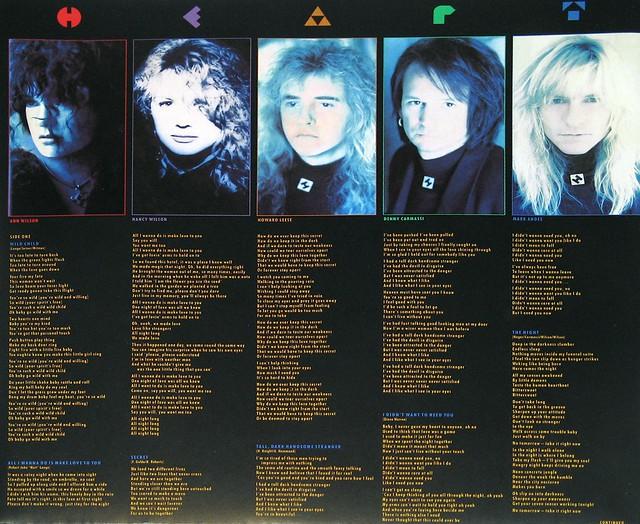"""Heart Brigade Capitol ESTU 2121 12"""" vinyl LP"""