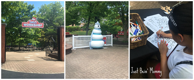 Christmas in July at Kings Island