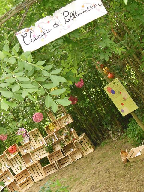 Forêt poétique : Clairière de pollinisation