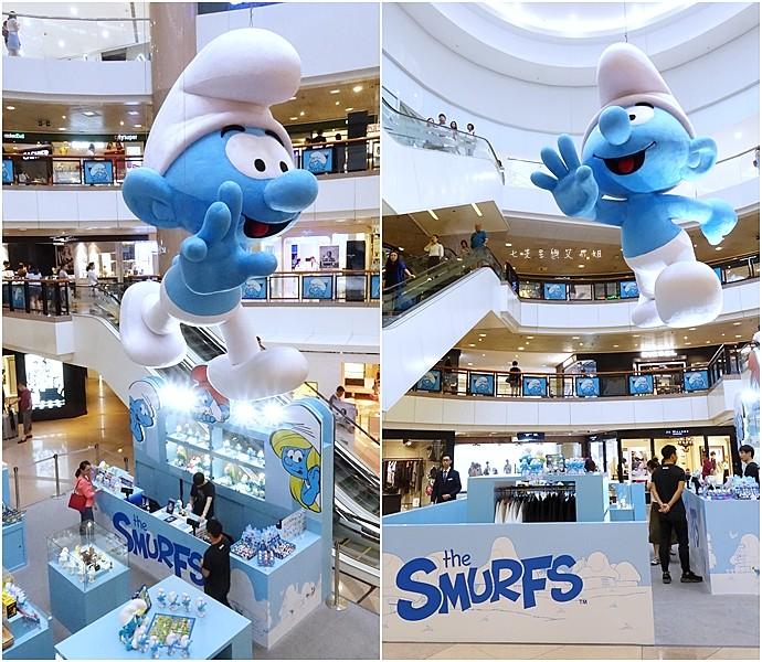 22 香港 海港城 Harbourcity 藍精靈 十分勁