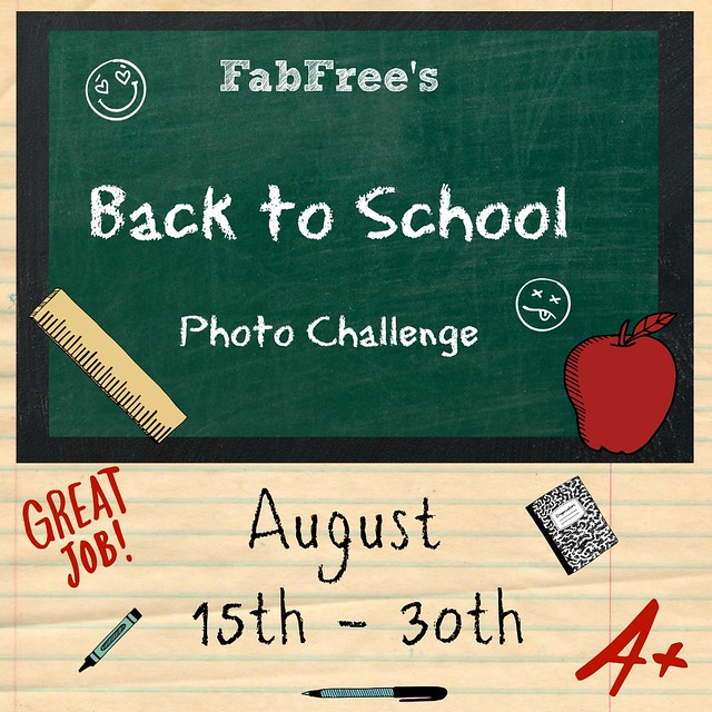"FabFree ""Back To School"" Photo Challenge"