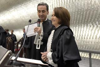 Posse da Presidente e do Vice-presidente do STJ, Ministra Laurita Vaz e Ministro Humberto Martins.01-09-16
