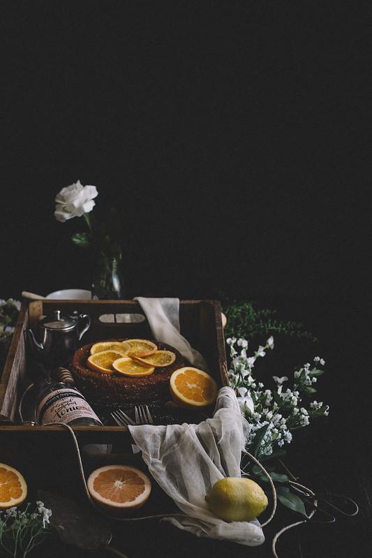 Spiced Grapefruit Sponge Cake with Candied Orange Slices || TermiNatetor Kitchen