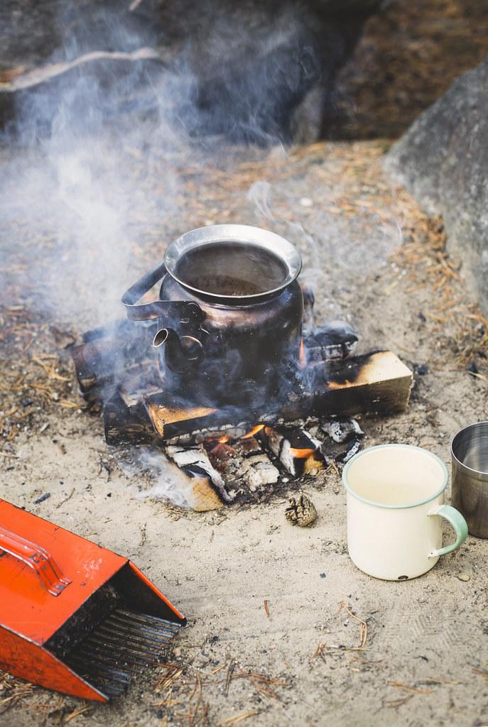 Kokkaffe och lingonplockning - Evelinas Ekologiska
