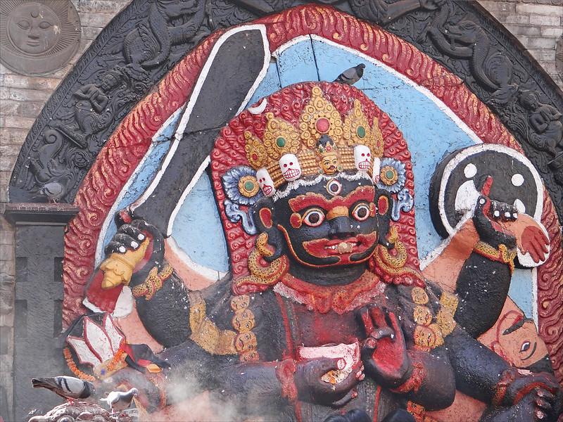 Kal Bhairav / Bhairava (Katmandou)
