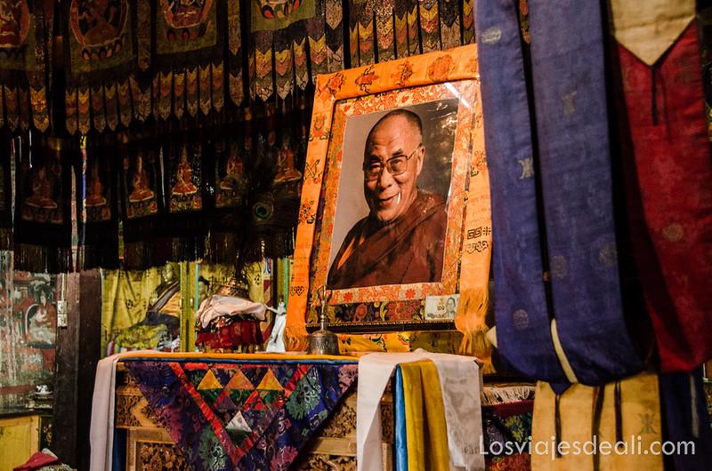 valle del Indo foto del dalai lama
