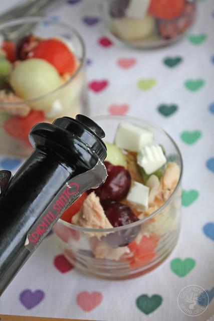 Ensalada de frutas www.cocinandoentreolivos.com