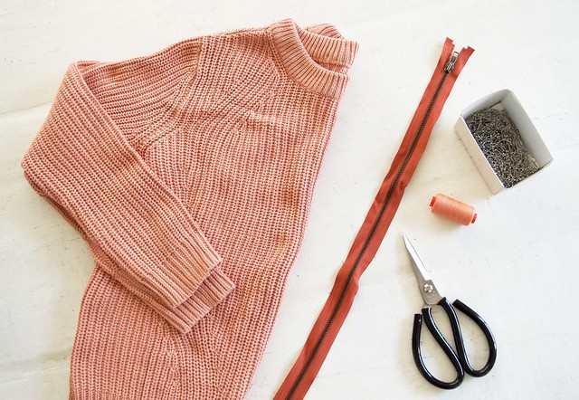 Before and After: Open Back Knit