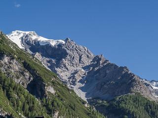 Berglhütte, 2188 m, unter dem Ortler-Westgrat