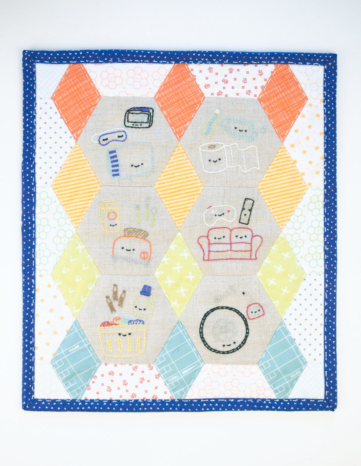 Around the House Mini Quilt